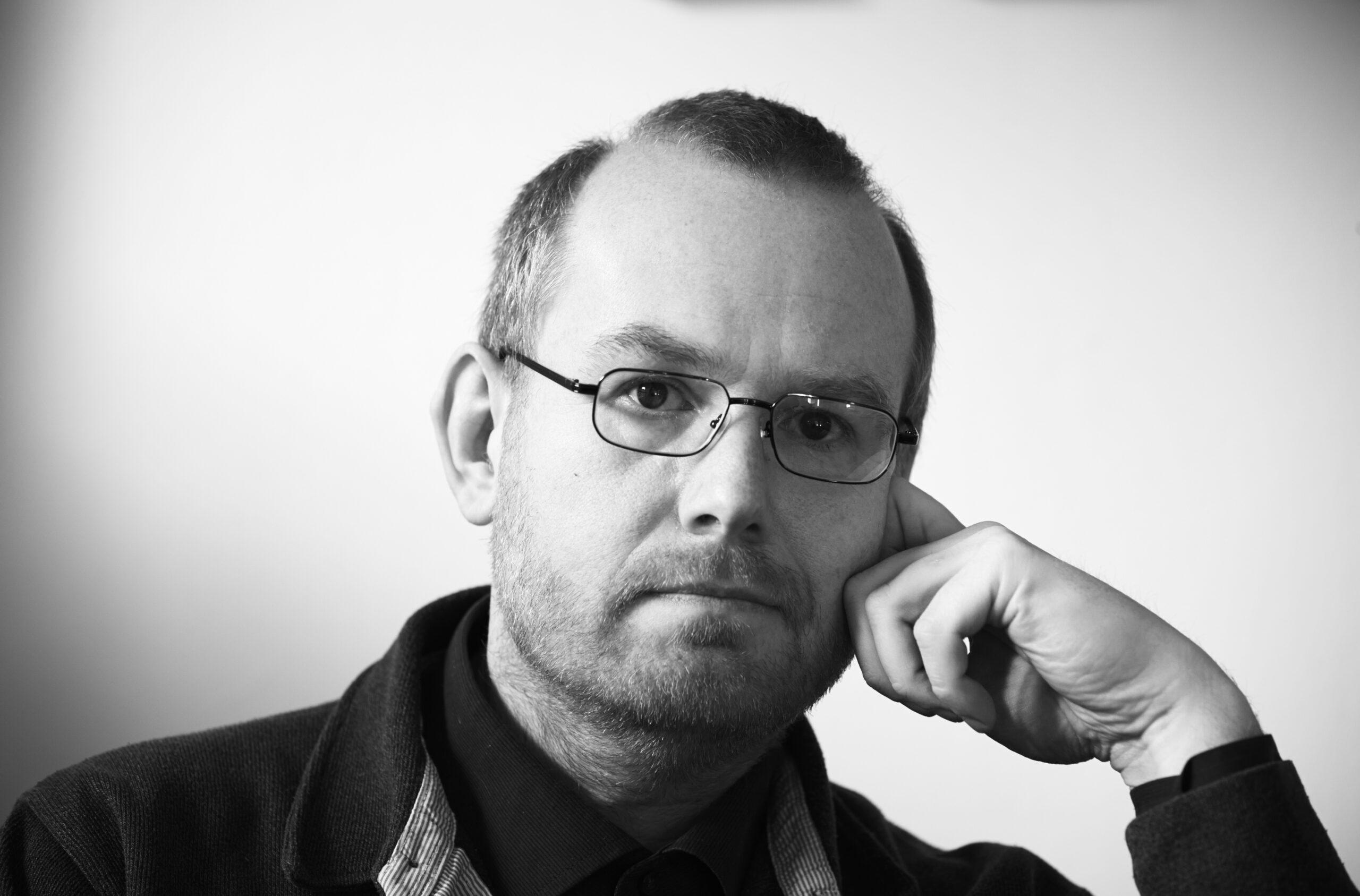 Billede af komponisten Thomas Agerfeldt Olesen